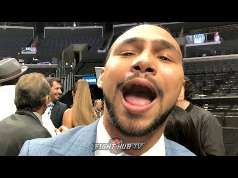 "KEITH THURMAN REACTS TO SPENCE'S WIN OVER PORTER ""I BEAT SHAWN IN CLEANER FASHION!"""