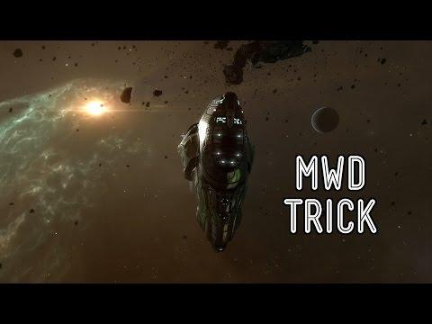 MicroWarpdrive (MWD) + Cloak Trick