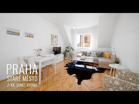 Prodej bytu 2+kk 50 m2 Rybná, Praha
