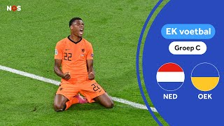 Grote Denzel Dumfries-show in Amsterdam   Samenvatting Nederland - Oekraïne   EK 2021