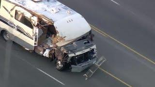 Stolen RV Pursuit in San Fernando Valley