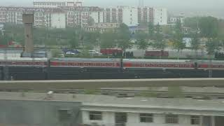 preview picture of video 'Прибытие поезда в город Тайюань / Arriving by train to Taiyuan'