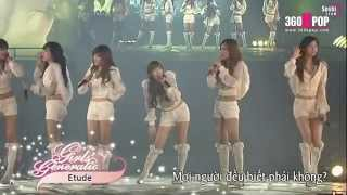 """SNSD - """"Etude"""" Into The New World 1st Concert (Vietsub)"""