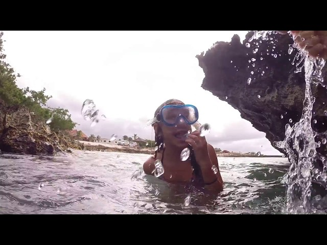 Gyrocopter Girl Aruba Snorkel with S & Ibby & E