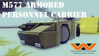 Besiege M577 Armored Personnel Carrier