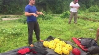 Viaje en Rafting por el Río Coyolate