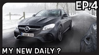 I smoked a Mercedes E63S AMG? 612 HP