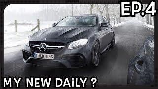I smoked a Mercedes E63S AMG? 612 HP