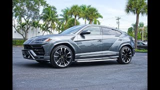 Lamborghini URUS The World's First & Fastest Super Sport SUV, Interior Exterior at Lamborghini Miami