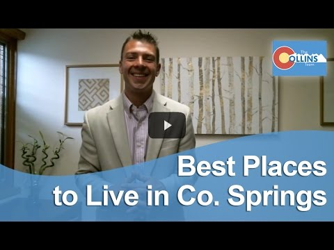 Video Colorado Springs Real Estate Agent: Best places to live in Co. Springs