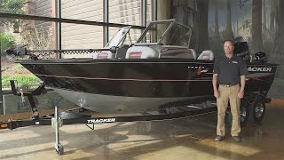 TRACKER Boats: 2016 Targa V-20 WT Deep V Fishing Boat Walk Around With Rick Emmitt