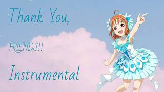 Thank You, FRIENDS!! {Instrumental}