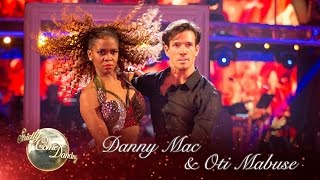 Danny Mac and Oti Mabuse Showdance to 'Set Fire To The Rain' - Strictly Come Dancing 2016 Final