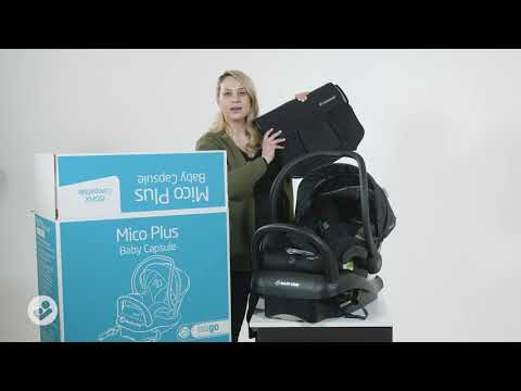 What's in the Maxi-Cosi Mico Plus box