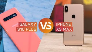 Galaxy S10 Plus vs. iPhone XS Max: ¿Cuál es mejor celular?