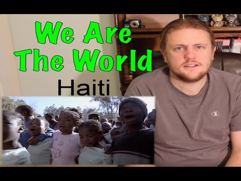 We Are The World For Haiti Reaction! *Requested*