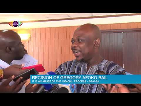 James Agalga describes the recision of Afoko's bail as an abuse of judicial process