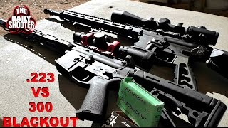 300 Blackout Vs. .223 Penetration Test 100 yards