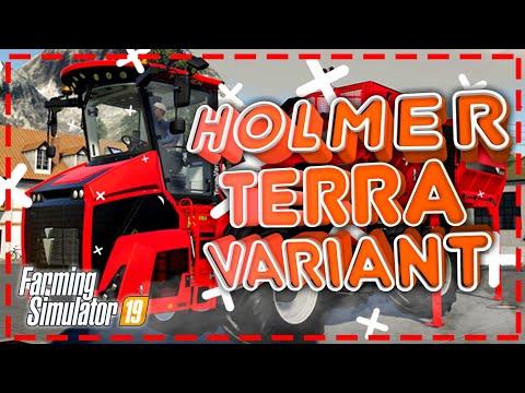 HOLMER Terra Variant новый DLC для Farming Simulator 19