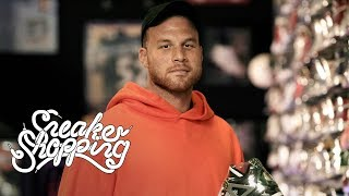 Blake Griffin goes Sneaker Shopping with Complex's Joe La Puma at Nojo Kicks in Detroit, Michigan, and talks about sneakers he was supposed to wear in the NBA Slam Dunk Contest, winning a bet against Michael Jordan that earned him an exclusive Air Jordan XI, and giving his friend the Off-White x Air Jordan 1 for his wedding.   Subscribe to Complex on YouTube: https://www.youtube.com/channel/UCE_--R1P5-kfBzHTca0dsnw?sub_confirmation=1  Check out more of Complex here: http://www.complex.com https://twitter.com/Complex https://www.facebook.com/complex http://instagram.com/complex https://plus.google.com/+complex/  COMPLEX is a community of creators and curators, armed with the Internet, committed to surfacing and sharing the voices and conversations that define our new America. Our videos exemplify convergence culture, exploring topics that include music, sneakers, style, sports and pop culture through original shows and Complex News segments. Featuring your favorite celebrities, authoritative commentary, and a unique voice, our videos make culture pop.