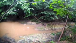 Мой одиночный поход в Карпаты (Горганы) Вышков-Осмолода 6-9 июля 2017 - ДЕНЬ1