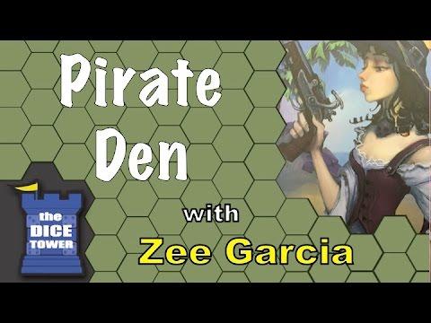 Pirate Den Review with Zee García