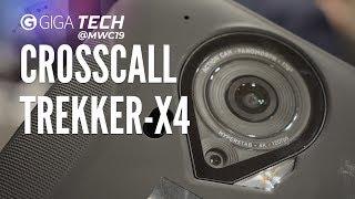 CROSSCALL TREKKER-X4 Hands-On (deutsch): Ultra-robustes Outdoor-Handy mit Actioncam – GIGA.DE