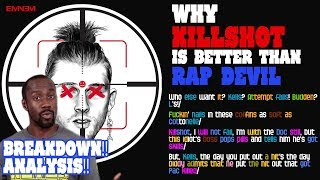 KILLSHOT Lyrics Breakdown | Why it's better than Rap Devil