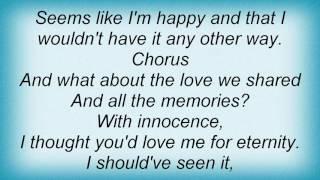 Angelina - Tears Are Falling Lyrics