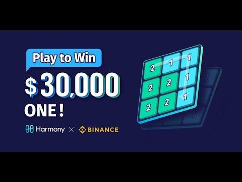 Harmony Puzzle com prêmios de US $ 30.000 na BINANCE . Corre vai Acabar!