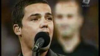 Anthony Callea - National Anthem - 2006