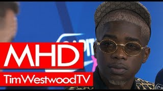 MHD On AFRO TRAP, XIX, Wizkid & Burna Boy, London Show, Films   Westwood