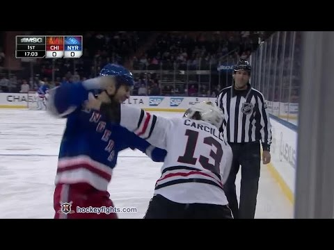 Tanner Glass vs. Dan Carcillo