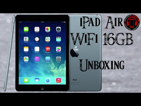 iPad Air Unboxing & Einrichtung [Deutsch/German]