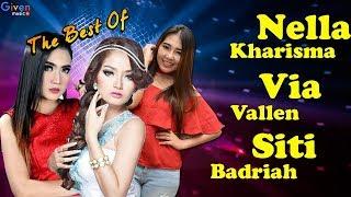 Gambar cover Nella Kharisma, Siti Badriah, Via Vallen - Lagu Dangdut Terbaru 2018