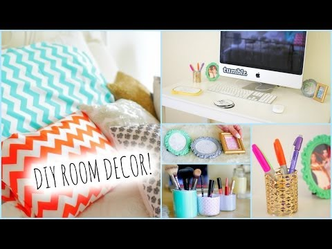 DIY Room Decorations for Cheap! + How to stay Organized