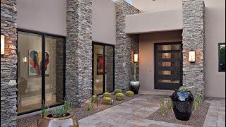 Creative Modern Exterior Wall Design Ideas