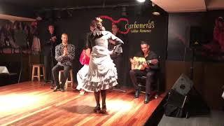 """Tablao Las Carboneras: Lucía Alvarez """"La Piñona"""" por tarantos"""