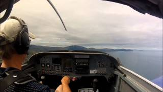 preview picture of video 'Paraparaumu (NZPP) circuit in Vans RV-6, ZK-VRV'