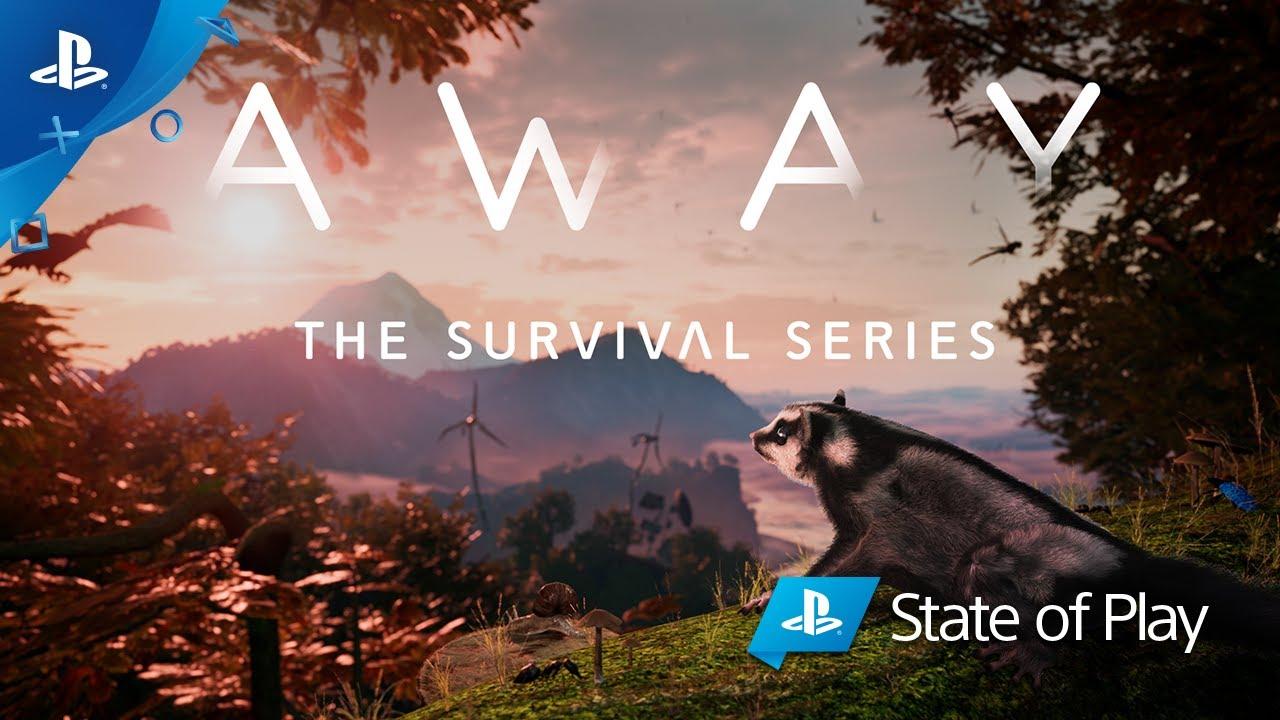 AWAY: The Survival Series vi farà vivere un'emozionante avventura nella natura selvaggia