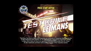 PSX Longplay [590] Test Drive Le Mans (Part 1 of 3)