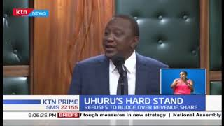 President Uhuru says no extra coin will be added to counties