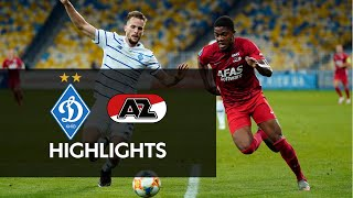 Highlights Dynamo Kiev - AZ   Champions League