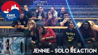 Blackpink Jennie   Solo | Reaction By K Wave