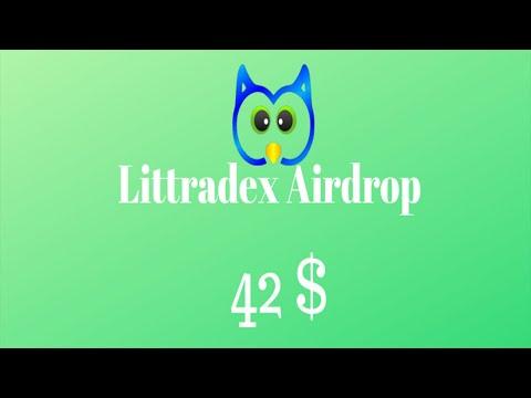 Ganhe U$42 Dólares no Airdrop Bot da plataforma Littradex !