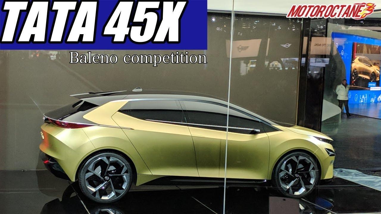Motoroctane Youtube Video - Tata 45X hatchback - Baleno, i20 Competition | Hindi | MotorOctane