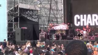 Charlie Puth 'Chandelier' (Sia cover) live@Pier 97