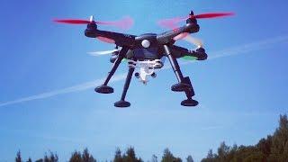 Бюджетный квадрокоптер XK DETECT X380... распаковка, калибровка, полеты и RTH