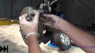 Brake Pad/Rotor Replacement - Front