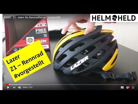 Lazer - Z1 - Helm für Rennradfahrer - vorgestellt